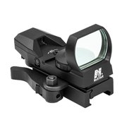 NcStar Red Reflex Sight 4 Reticles, QR Mount, Black, Red