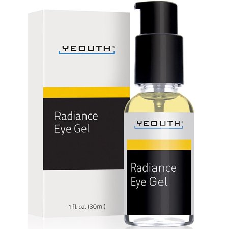 Retinyl Palmitate Wrinkle Treatment Gel - YEOUTH Eye Gel Cream for Anti Aging, Wrinkle Cream, Dark Circles, Puffy Eyes, Eye Bags, Crows Feet, with Hyaluronic Acid Serum and Tripeptide - 100% Guaranteed