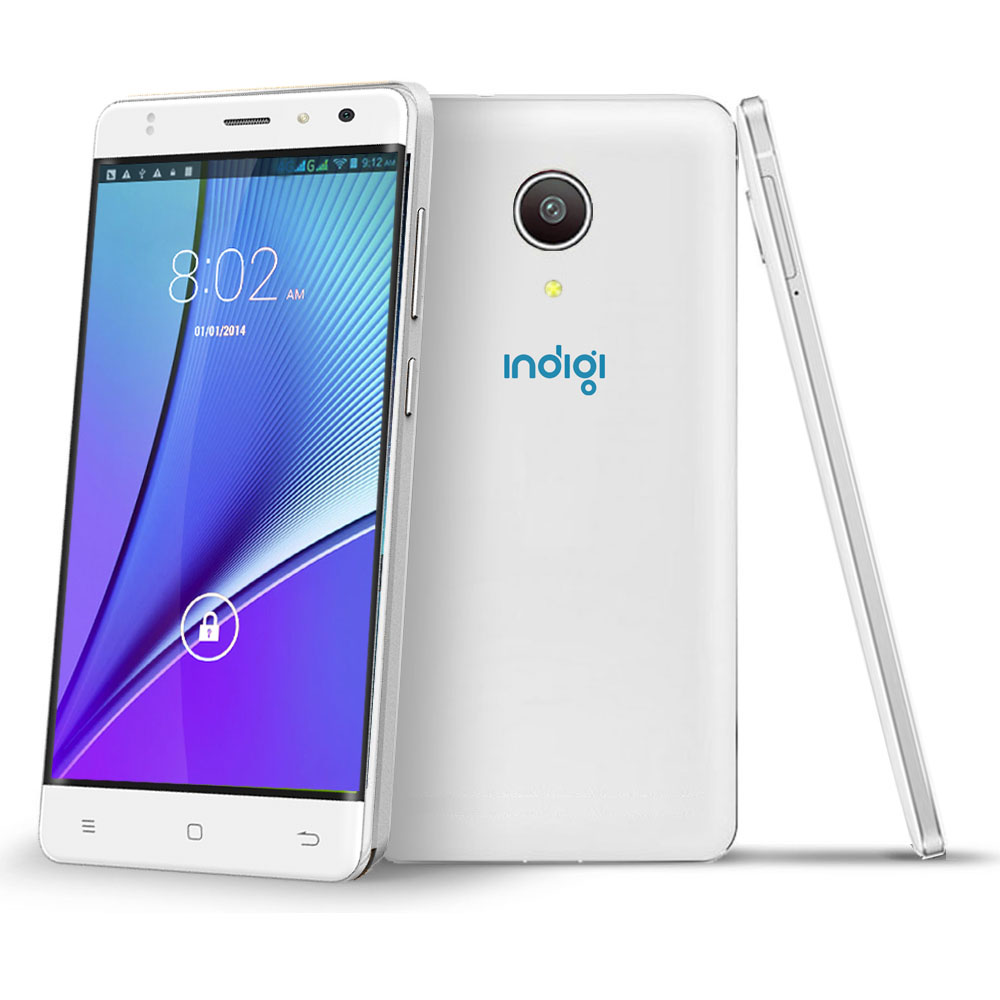 Indigi® NEW! Slim 5in 4G LTE Smart Cell Phone Android 6.0 Marshmallow (Factory