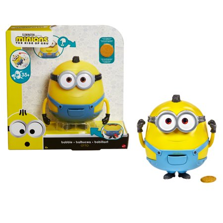Minions: The Rise of Gru Babble Otto Large Interactive Figure