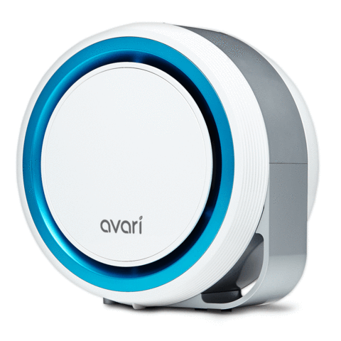 Avari 525 Better than HEPA Air Purifier, Blue