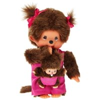 Monchhichi Mother Care with Baby Pink7.87 tall By Schylling