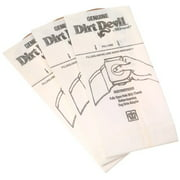 Dirt Devil Type G Handheld Vacuum Bags (3-Pack), 3010347001