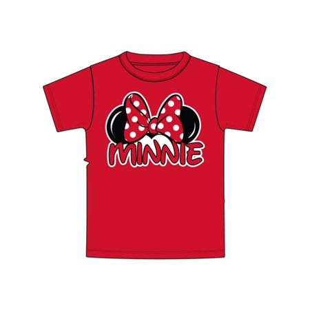 4t Tee - Disney Toddler Minnie Family - Red 4T Tee