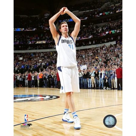 Halloween Weather 2017 Texas (Dirk Nowitzki celebrates after scores his 30000th career NBA point on March 7 2017 at the American Airlines Center in Dallas Texas Photo)