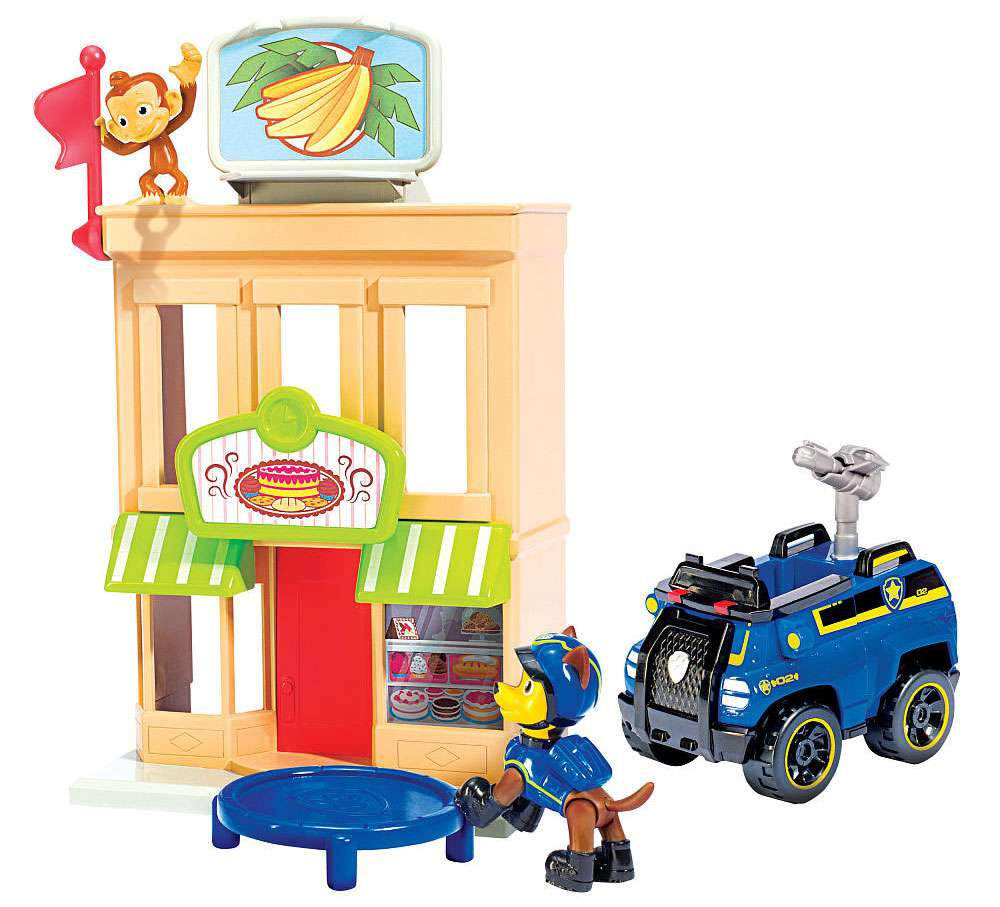 Paw Patrol Spy Chase Adventure Bay Townset