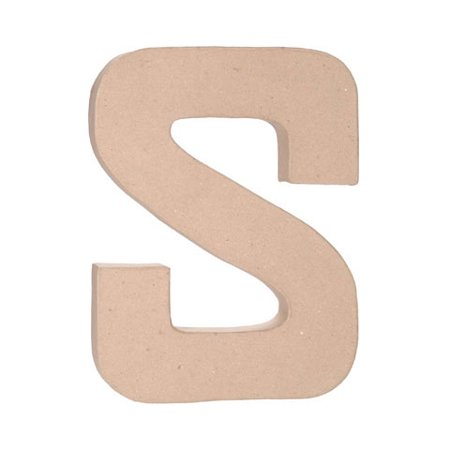 Paper Mache Letter: S - 12 inches](Halloween Decorations With Paper Mache)
