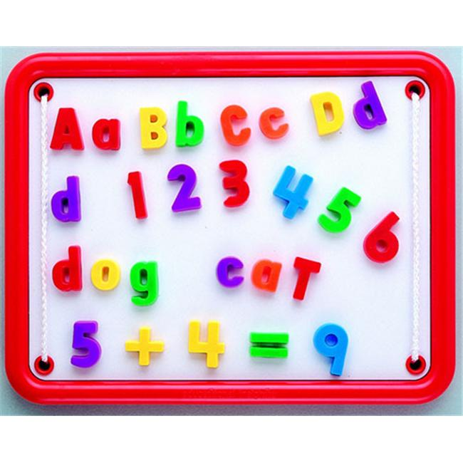 EDUCATIONAL INSIGHTS EI-1780 MAGNETIC ALPHABET & NUMBERS-99 PIECES - image 1 de 1