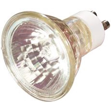 General Electric Metal Halide Lamp Mr16, 20 Watt, Gx10, Clear, High Intensity Discharge, Universal Burn Position