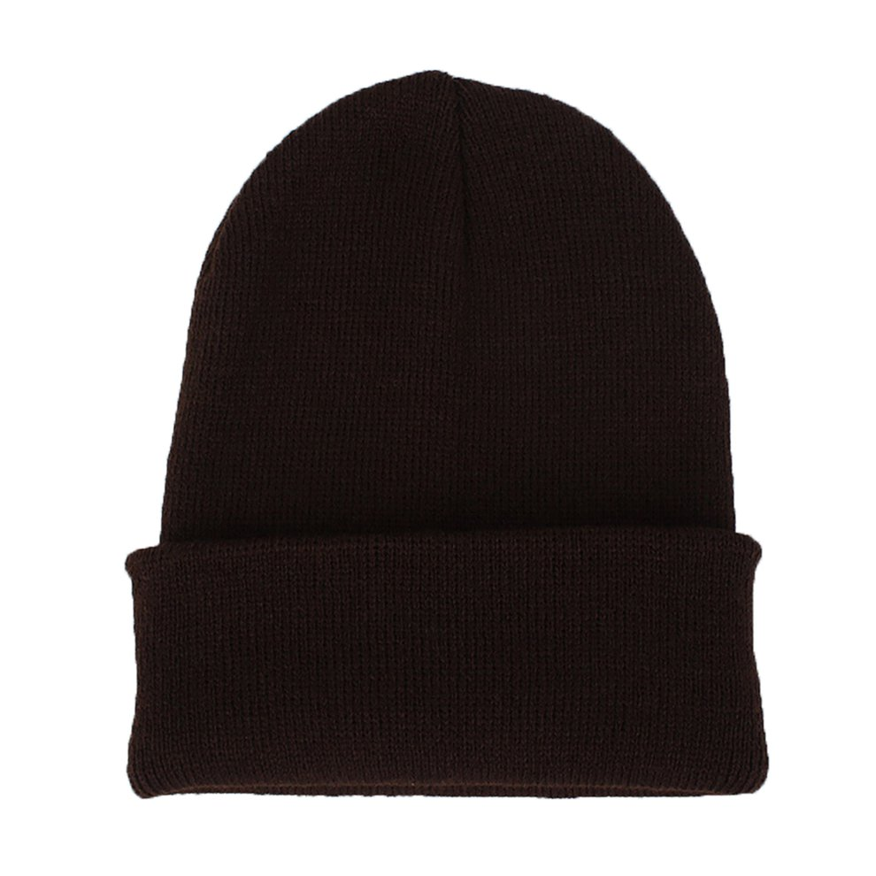 Cuff Skull Women//Cap Men//Hats Winter Warm Knit Beanie Slouchy Ski//Plain