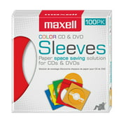 Maxell Multi-100-Pack CD/DVD Sleeves