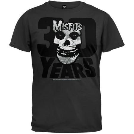 Misfits - 30th Anniversary Flock Foil T-Shirt