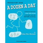 Dozen a Day: A Dozen a Day Preparatory Book (Paperback)
