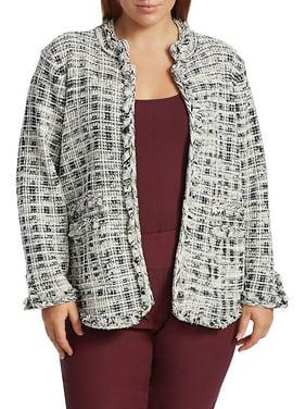 Plus New Mix Tweed Jacket