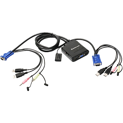IOGEAR GCS72U KVM Switch with Audio