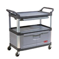 Rubbermaid Commercial 640-4094-GRAY Instrument Cart by Rubbermaid Commercial