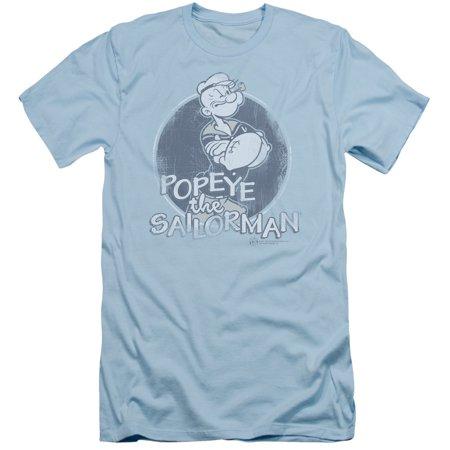 Popeye The Sailor Man Cartoon Original Sailorman Adult Slim T Shirt Tee
