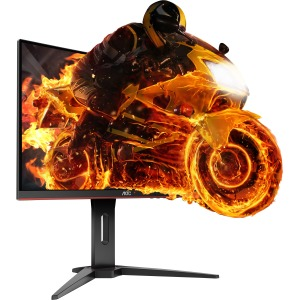 "AOC C24G1 24"" FullHD 1920x1080 144Hz WLED LCD FreeSync Curved Gaming Monitor"