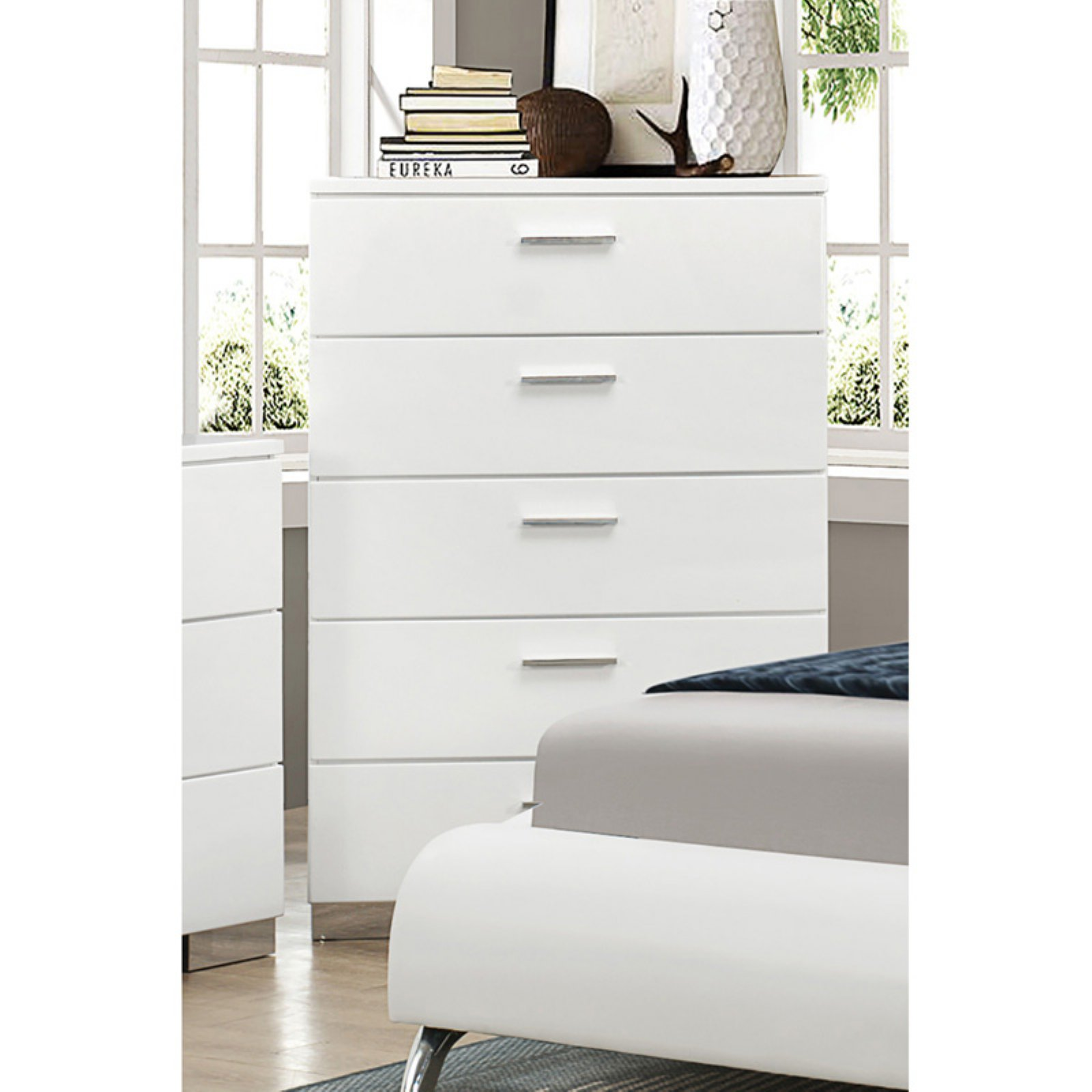 Coaster Company Felicity Collection Chest, White