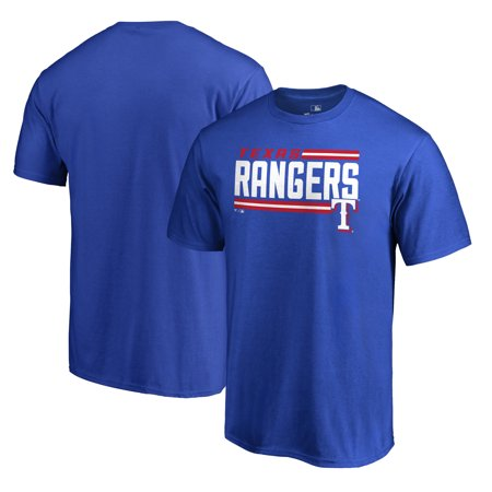 Texas Rangers Fanatics Branded Onside Stripe T-Shirt - Royal ()