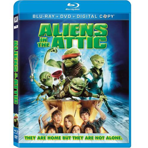 Aliens In The Attic (Blu-ray + DVD + Digital Copy) (With INSTAWATCH) (Widescreen)