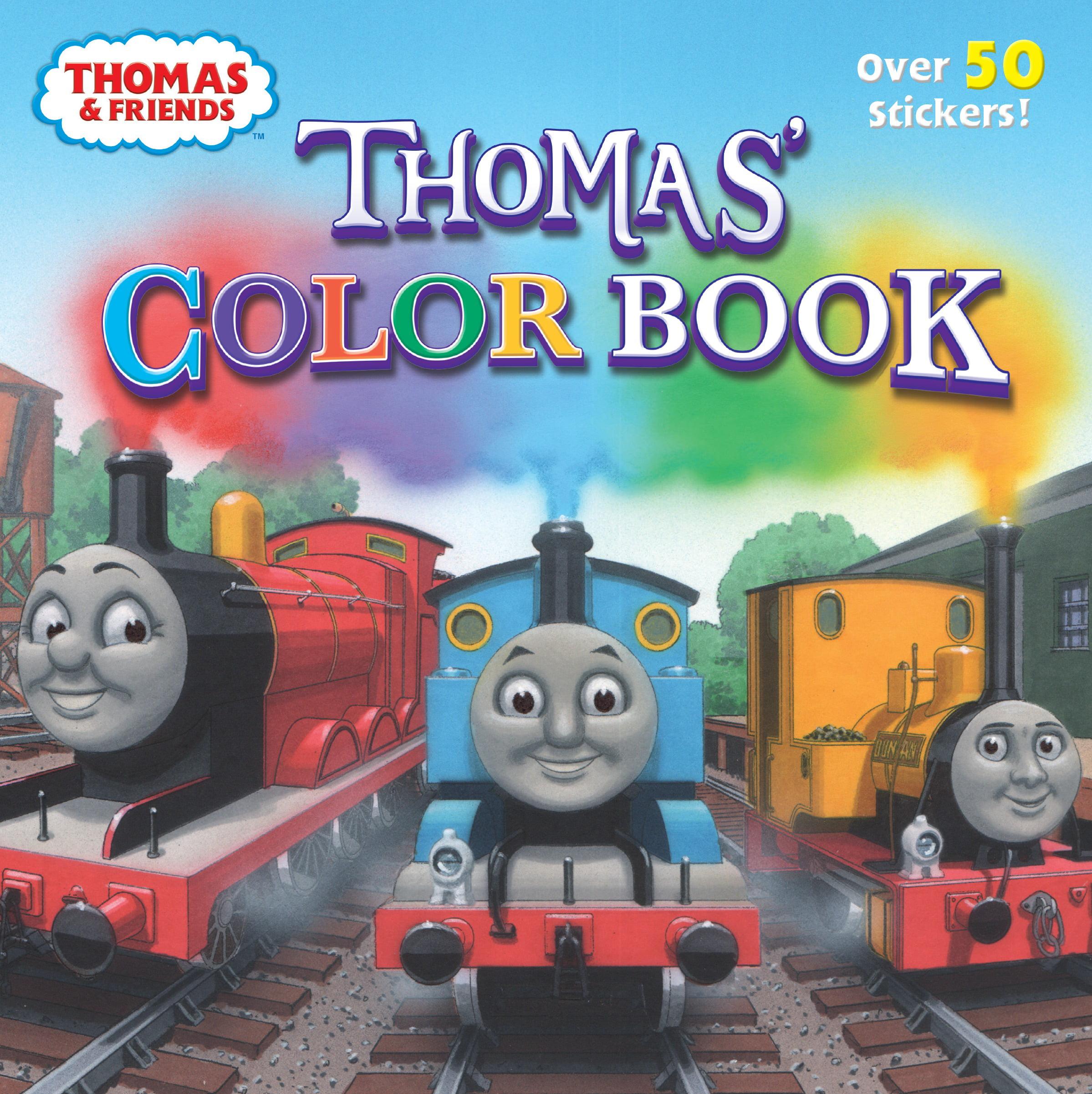 Thomas\' Color Book (Thomas & Friends) - Walmart.com
