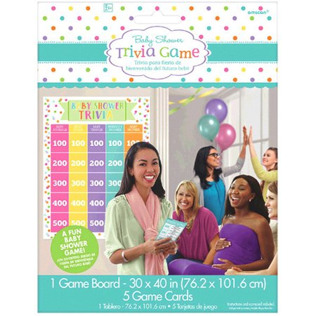 Baby Shower Trivia Party Game (1ct) ()