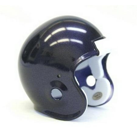 - Micro Football Helmet Shell - Purple Metallic