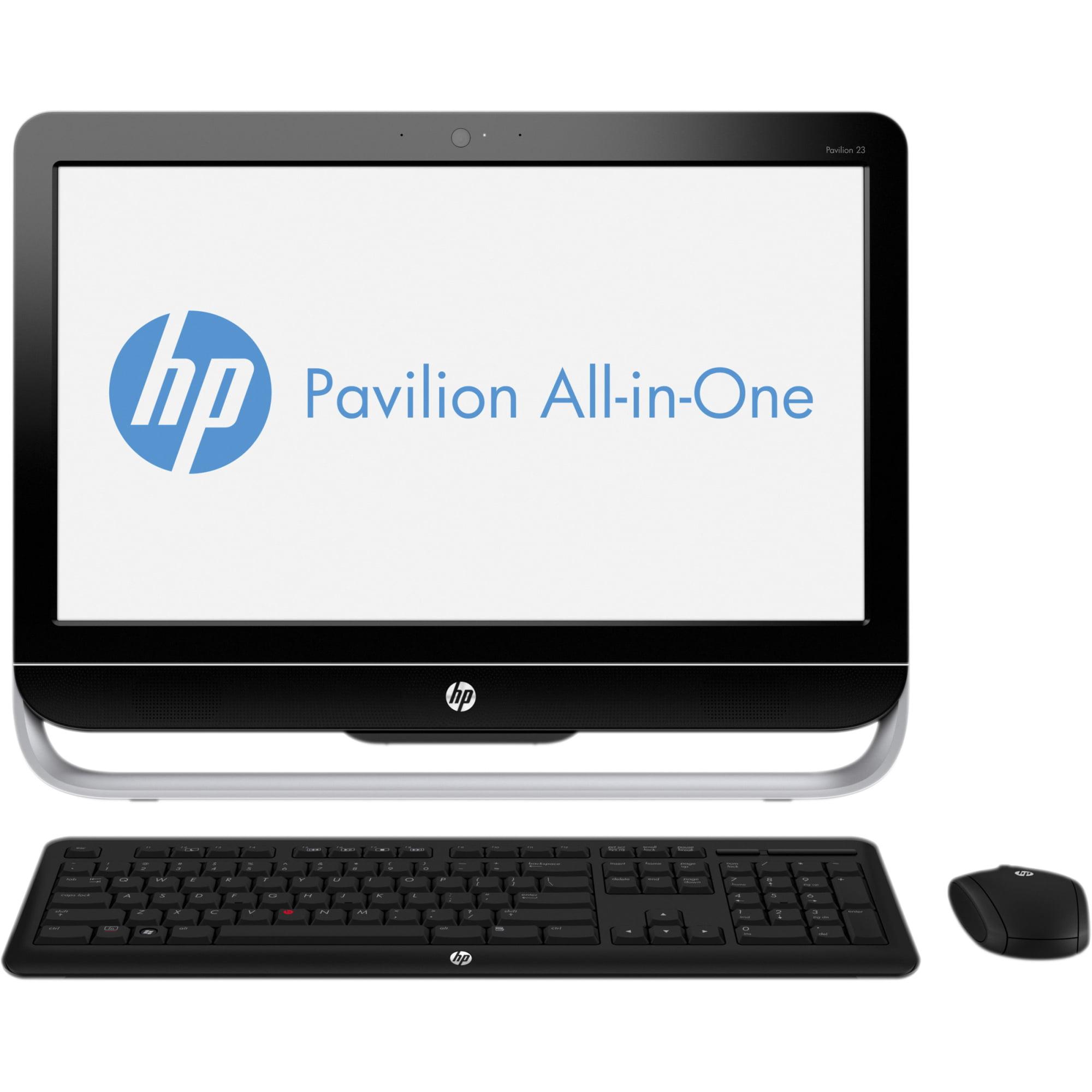 "HP Pavilion 23-b010 23"" 500 GB HDD Dual-core  1.70GHz 6GB RAM Black"