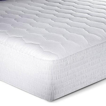 Beautyrest Hotel Luxury Pillow Top Mattress Pad Walmart Com