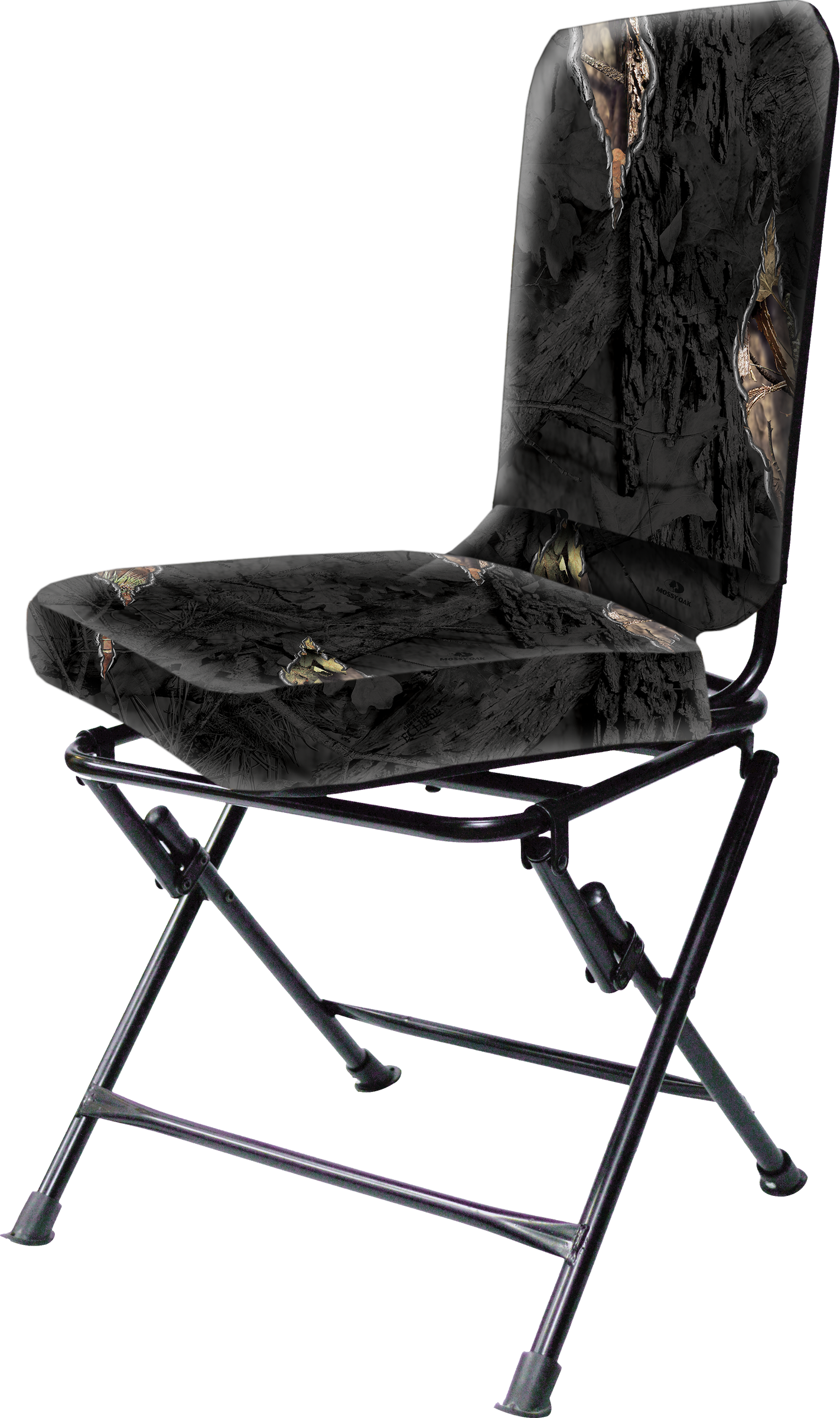 Mossy Oak Swivel Blind Chair Eclipse Camo Walmart Com Walmart Com