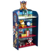 Deals on Nick Jr. PAW Patrol Wooden Playhouse 4-Shelf Bookcase