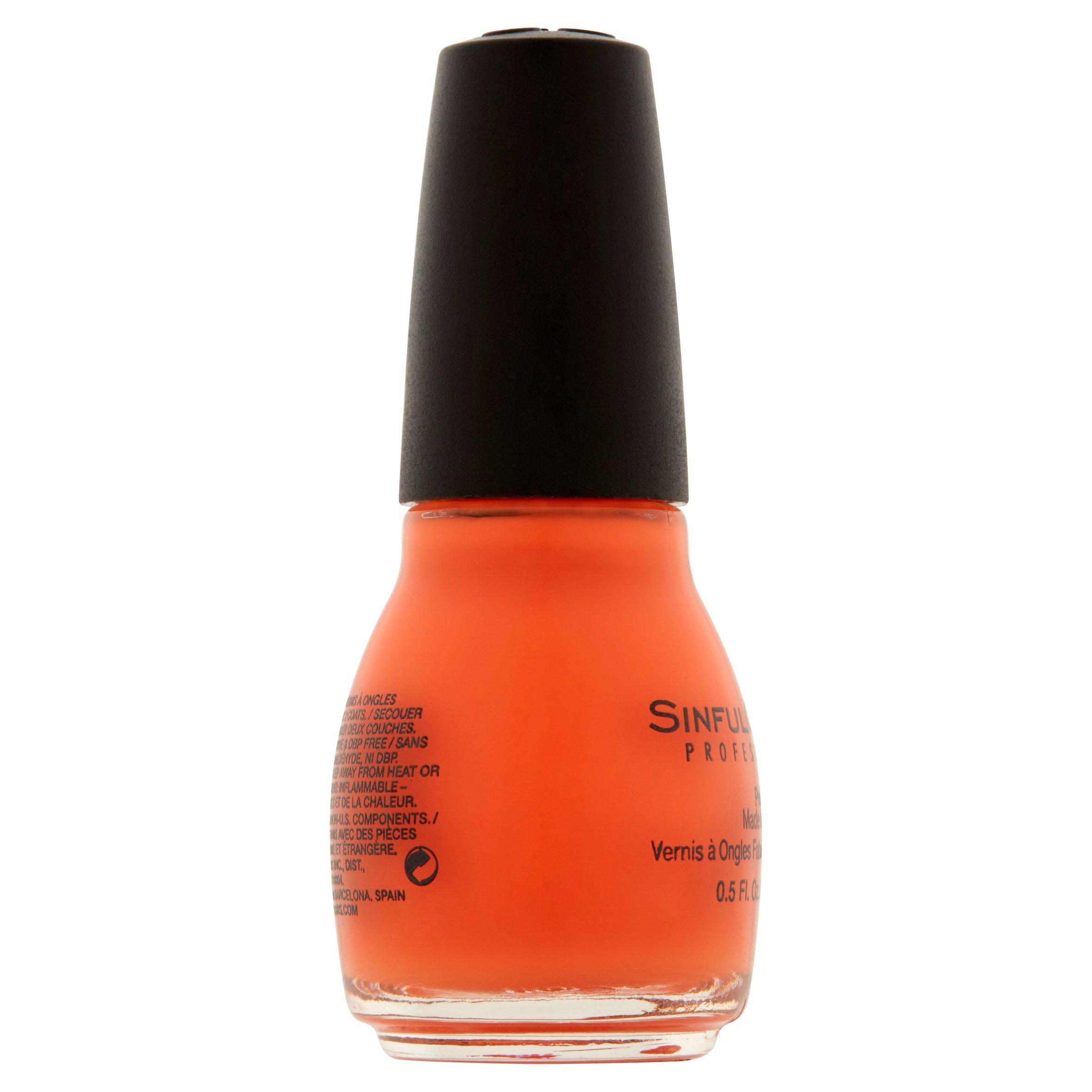 Sinful Colors Professional Nail Polish, Hazard, 0.5 Fl Oz - Walmart.com