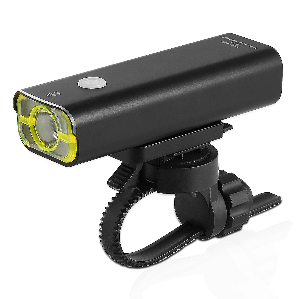 LED USB Rechargeable Cycling Headlight Wide Beam Angle 360° Swivel 400 Lumens LED Off Road Bicycle Bike Front Light - image 8 of 8