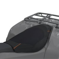 Classic Accessories QuadGear ATV Deluxe Seat Cover, Black/Grey
