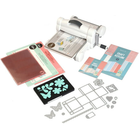Sizzix Big Shot Plus Starter Kit (White & Gray) (Big Shot Machine Best Price)