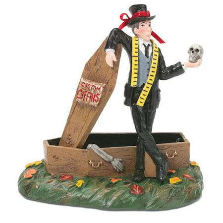 Department 56 Snow Village Halloween 807301 A Grave Undertaker - Undertaker Halloween