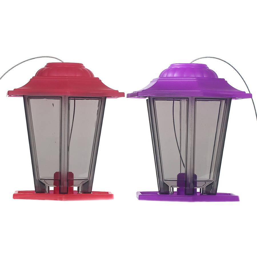 Audubon NA19971 1.5 Lb Lantern Bird Feeders Assorted Colors