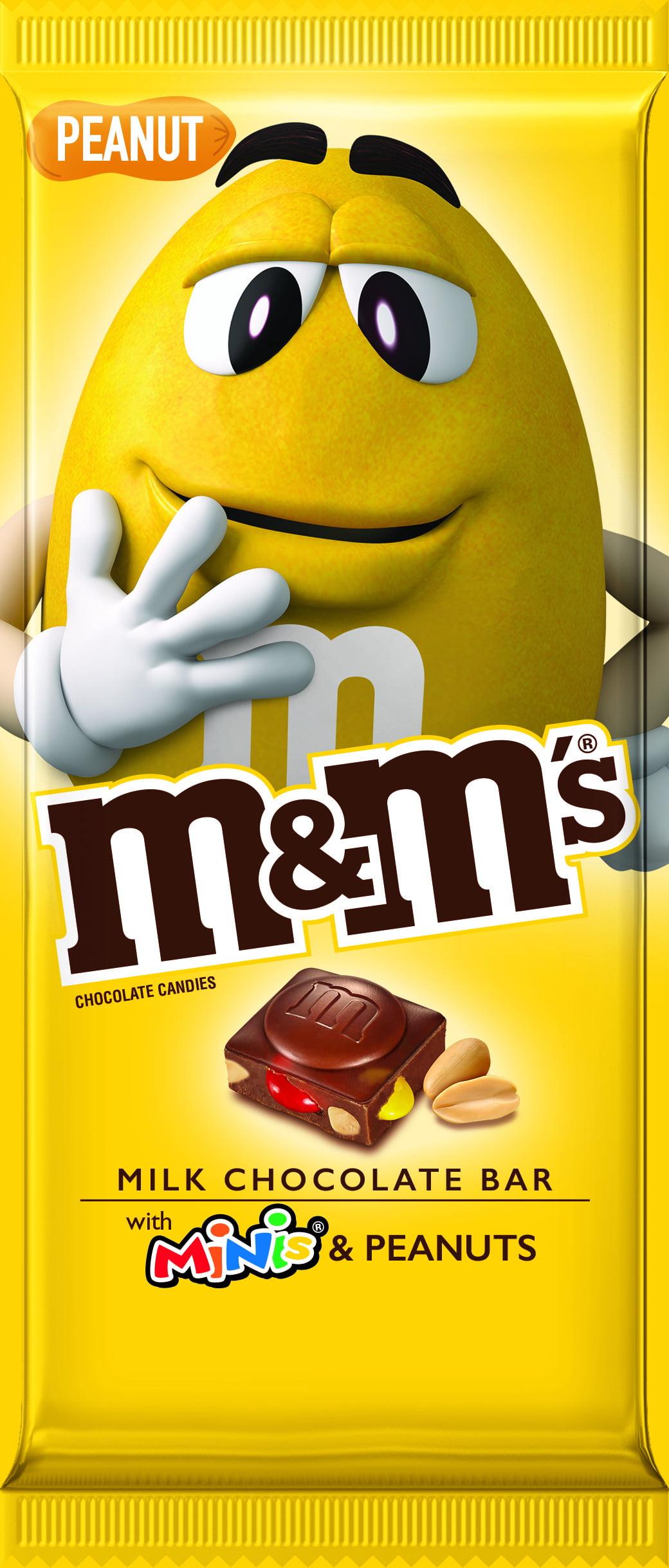 M&M'S Peanut & Minis Milk Chocolate Candy Bar - 4oz
