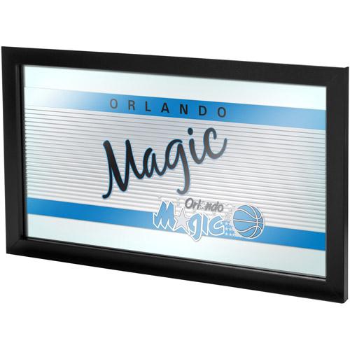 Orlando Magic Hardwood Classics NBA Logo Mirror