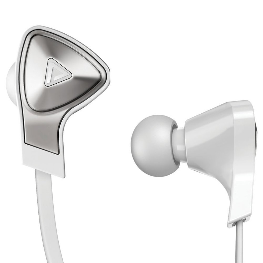 Monster DNA In-Ear Earbud Headphones with Mic and Apple Control Talk, White (New Open Box) by Monster