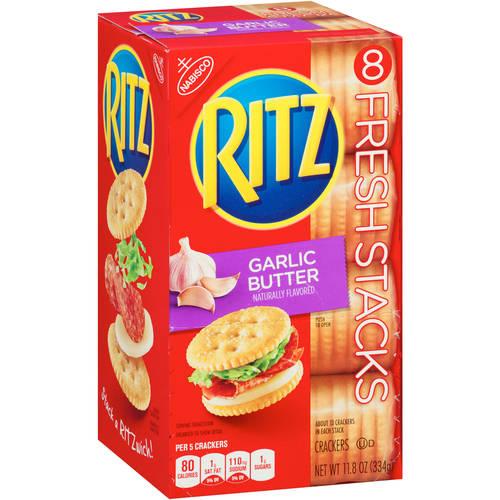 Nabisco Ritz Garlic Butter Crackers, 11.8 oz