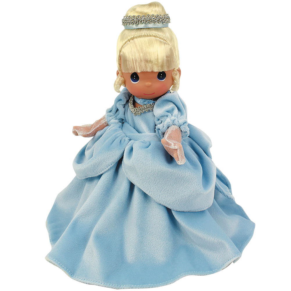 "Disney's Enchanted Cinderella Precious Moments Doll - 9""H Collector Quality"