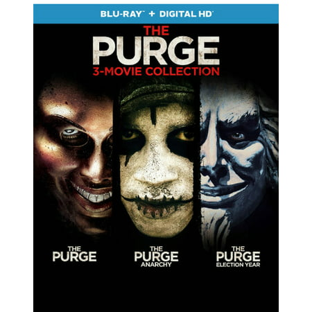 The Purge Movie Masks For Sale (The Purge: 3-Movie Collection (Blu-ray + Digital)