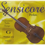 Super Sensitive Sensicore Cello Strings D, Medium 3/4 Size
