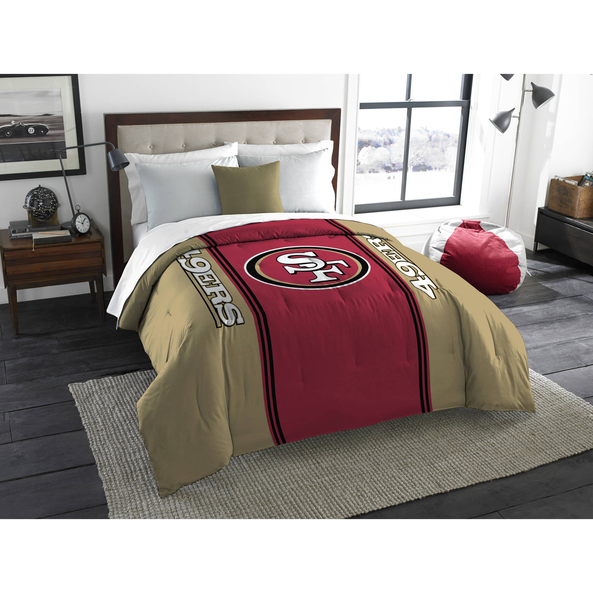 "NFL San Francisco 49ers ""Mascot"" Twin/Full Bedding Comforter"