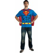 Batman T-Shirt Adult Costume Kit Top Movie Comic Superhero Theme Party Halloween by Rubies