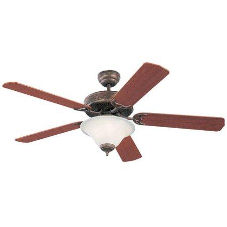 Tuscan Bronze Reflector - Homeowners Deluxe 52-Inch Tuscan Bronze Ceiling Fan