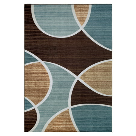 Better Homes & Gardens Geo Waves Textured Print Area Rug or Runner 8' Runner Transitions Runner