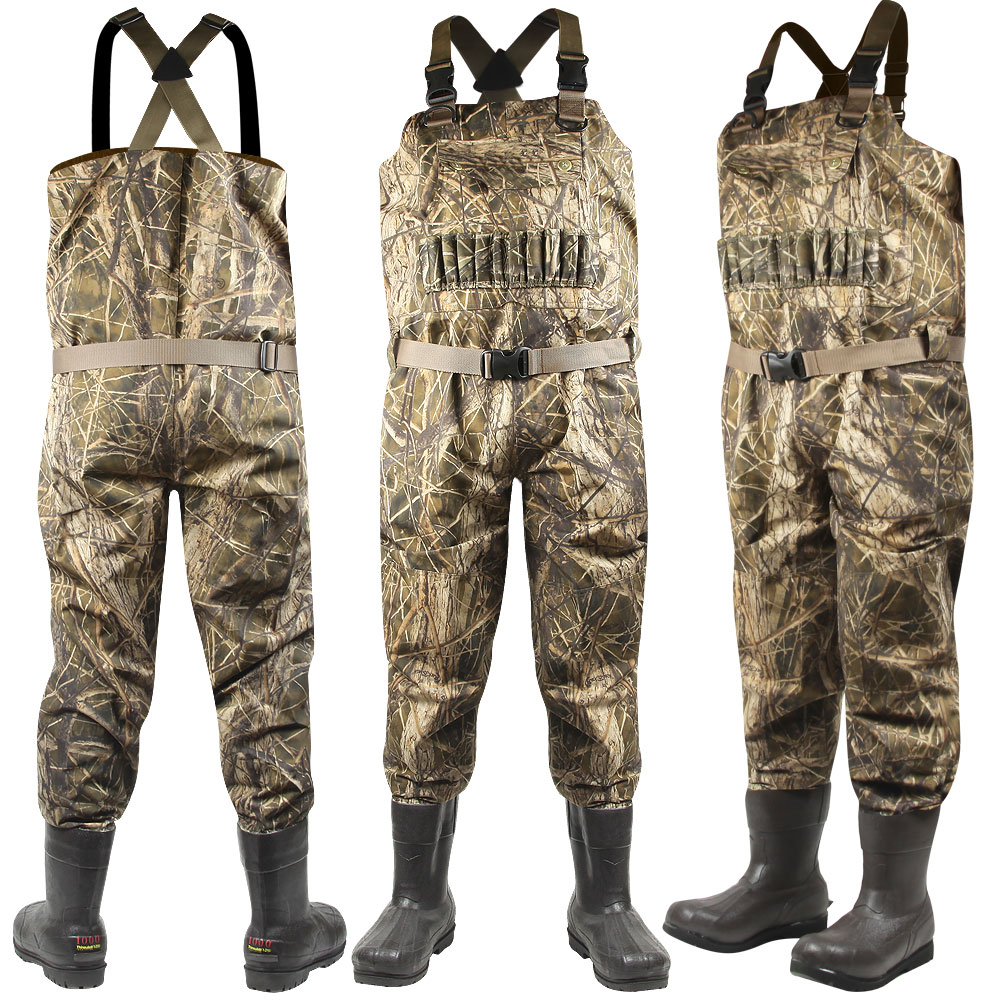 Buck Brush Breathable 1000g STOUT Waders (10)- Stout